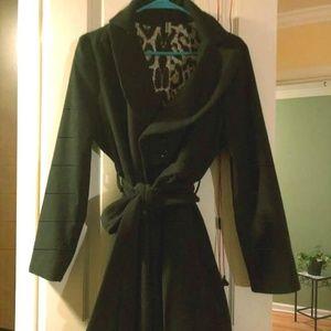 Jackets & Blazers - Silk lined, cotton princess skirt bottom coat
